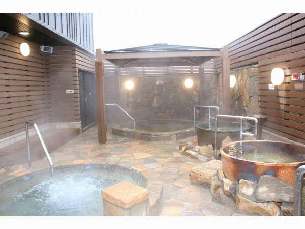 【風呂】黄金の湯 露天風呂