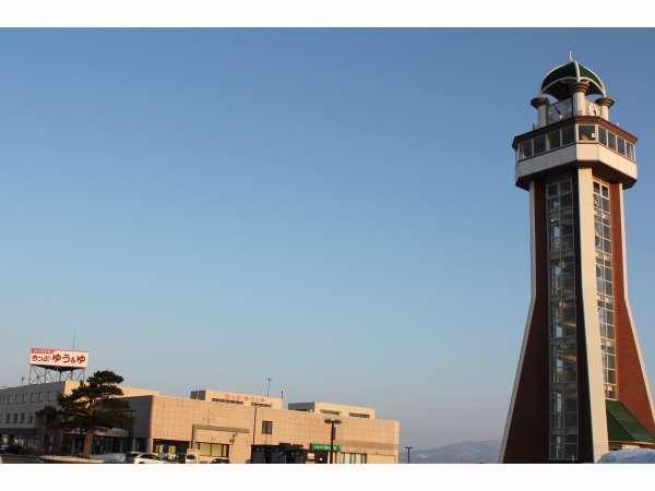 【外観】百年記念塔を目印にご来館ください♪
