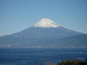 マリンビューからの世界文化遺の「富士山」は素晴らしい景色です。