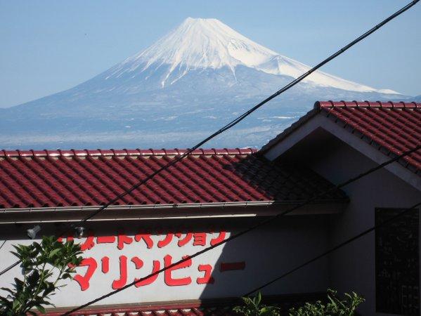 マリンビューからの「富士山」パワーで元気充電!