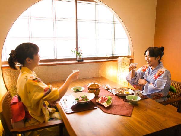 【個室食事処】