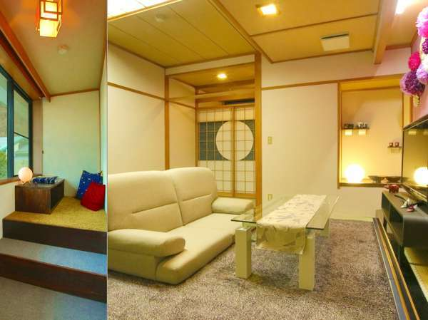 ☆NEW☆『宵-yoi-』は、月を愛でる日本人古来の風雅を斬新にアレンジしたモダンルーム(禁煙)。