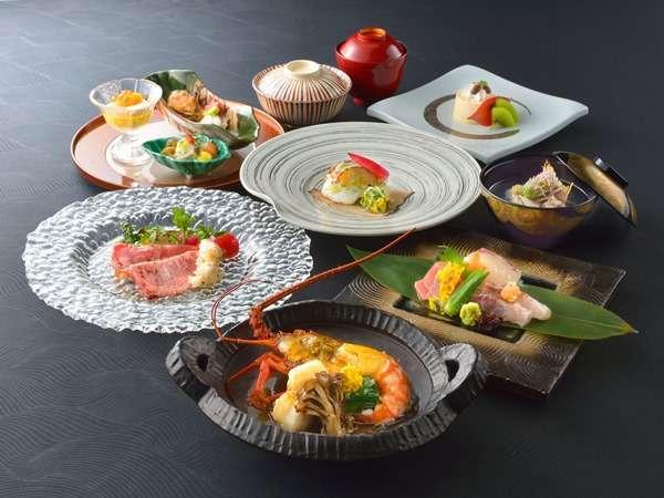 【夕食】 海懐石 ※10~3月のお料理イメージとなります