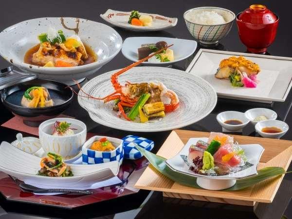 【夕食】 海コース ※10~3月のお料理イメージとなります