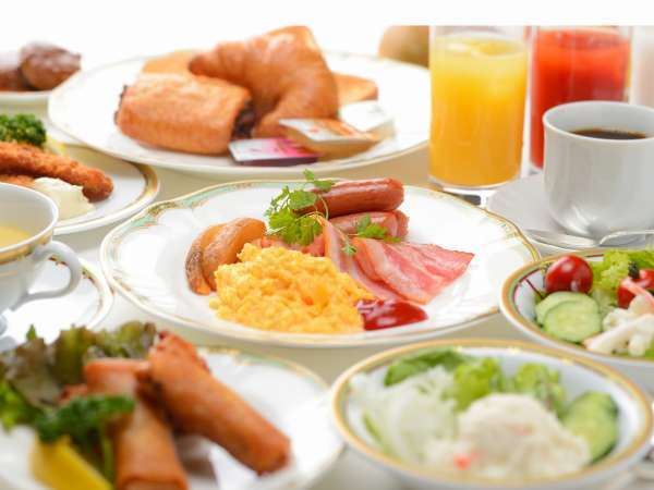 和洋バイキングのご朝食(イメージ)※当面の間、和洋セットメニューのご提供とさせて頂きます