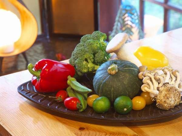 厳選された近隣野菜