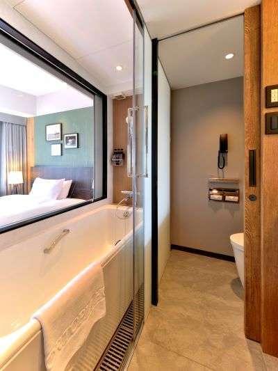 本館24階プレミアシングル バスルーム