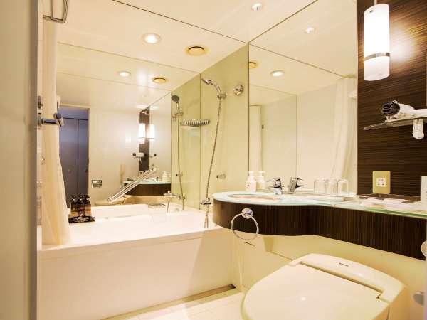 本館20~23階 ミッドセンチュリーフロア バスルーム一例