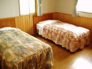 島コテージのベッドルーム