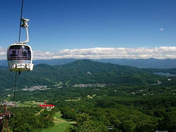 空中散歩♪壮大な景色を息を呑む、妙高高原スカイケーブルからの絶景!