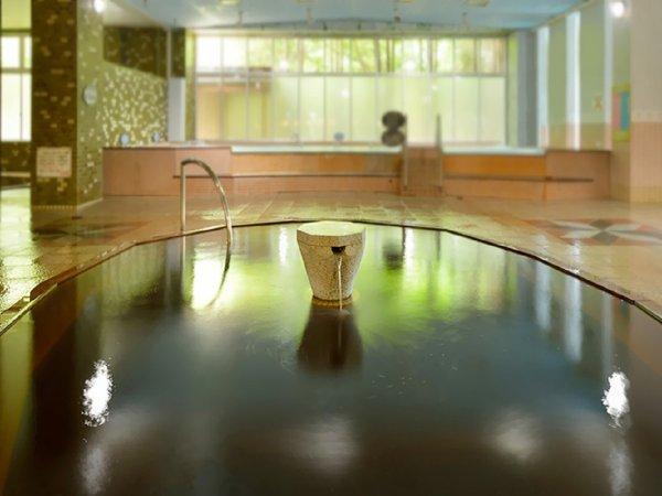 ※泉質はナトリウム塩化物・炭酸水素塩泉(弱アルカリ性低張性高温泉)