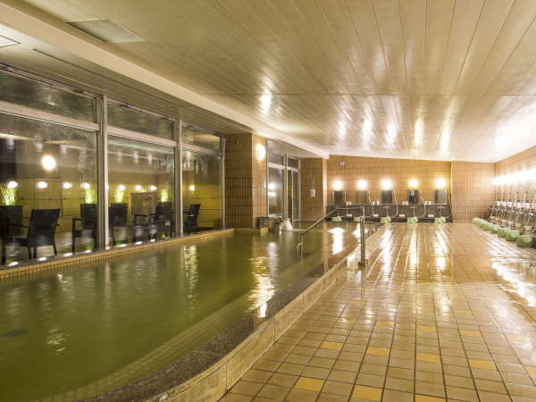 【大浴場・露天風呂】別府温泉でゆったり♪