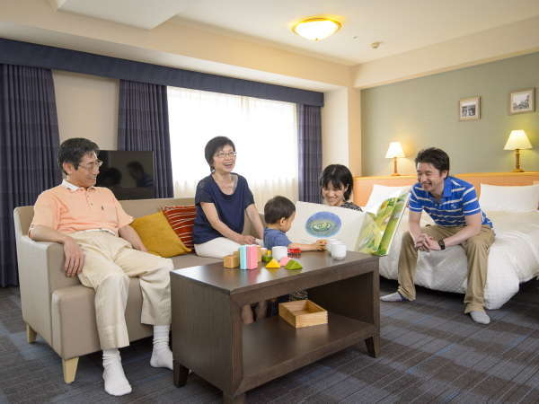 【客室/イメージ】大家族や友人同士のグループステイに最適♪