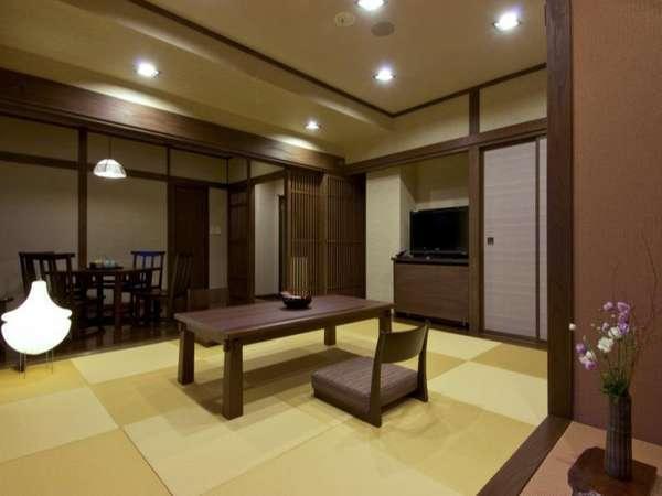 デザインルーム・黄昏の和:和室8畳+フローリング6畳