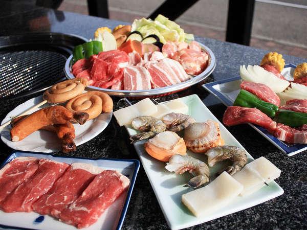 お肉に、海鮮!BBQをお楽しみください^^