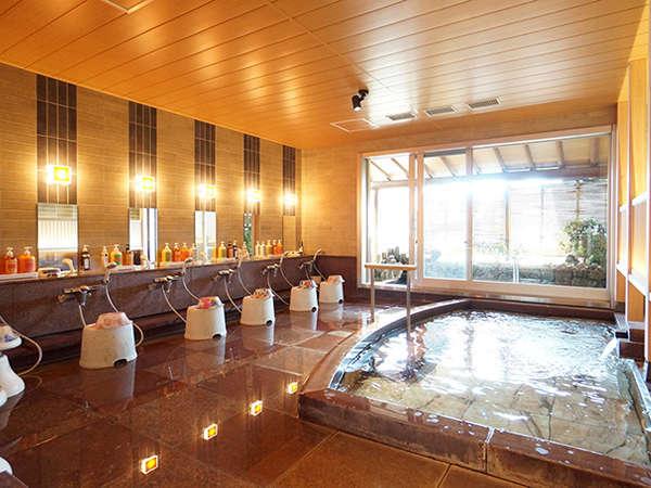 女性大浴場 たっぷりの湯量で泉質自慢の熱海温泉を堪能