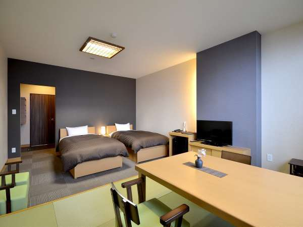 ■客室:湖水側・和洋室(禁煙)の一例