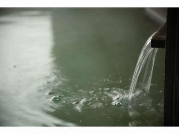 自家源泉『美肌の湯』と共に。