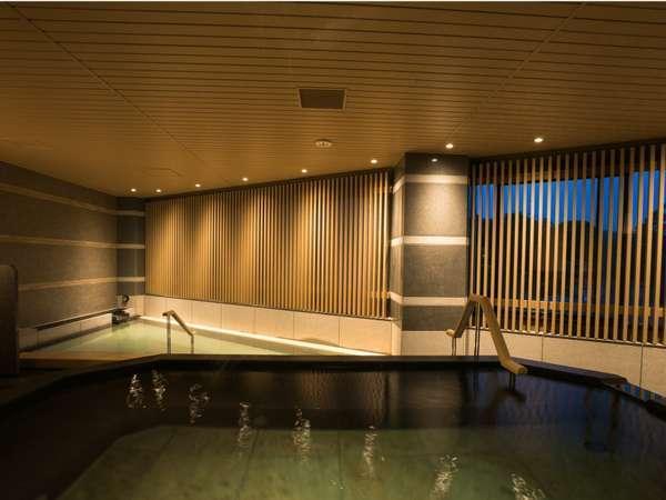 リニューアルされた男性大浴場。ゆっくりのんびり、お楽しみください☆
