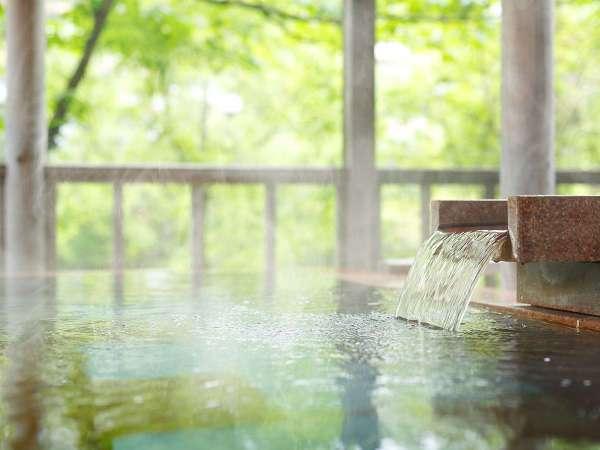 お肌に優しいアルカリ性単純泉は美肌の湯として知られています