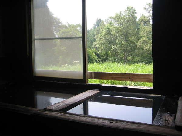 にごり湯の温泉