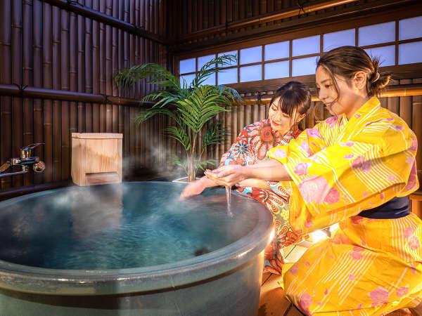 ■五葉-goyou-■「露天風呂付き和洋室」がOPEN!かけ流しの温泉をひとり占め♪