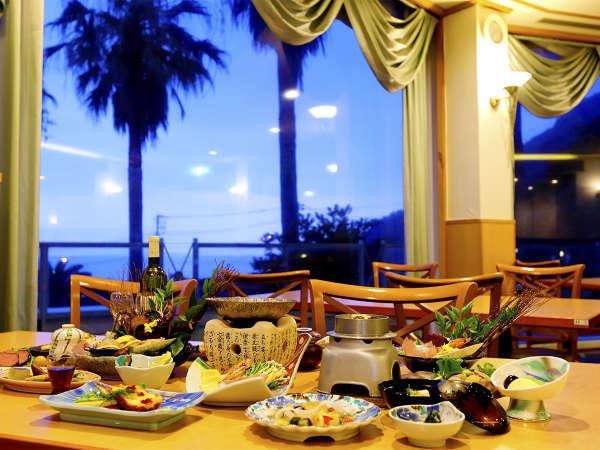 【夕食】レストラン「ベイルーム」