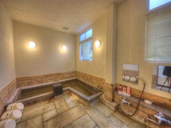 天然石風呂