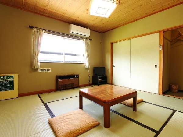 くつろぎおまかせ和室(8畳)冷暖房完備