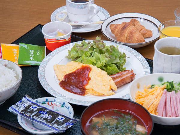 *ご朝食一例/栄養バランスの整ったホテルの朝ごはん。