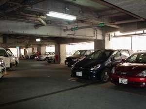 駐車場 宿泊者は特別料金にてご利用できます(営業時間:7時~23時)