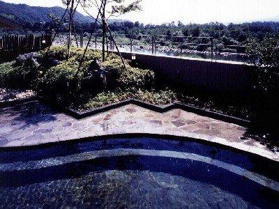 【露天風呂】利根川と榛名山を望む絶景の露天風呂