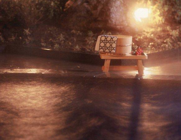 【露天風呂】夜