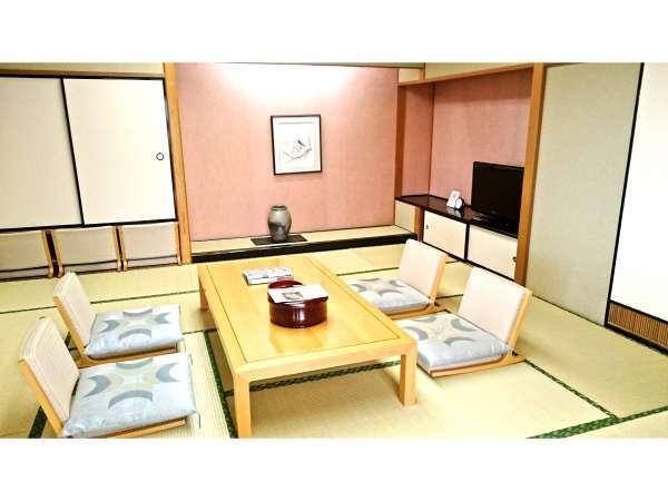 【和洋室】(12畳の和室)楽しいひと時をお過ごしください。