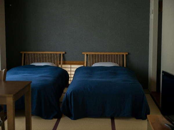 3階 羽黒 山側和室広々16帖和ベッドタイプ