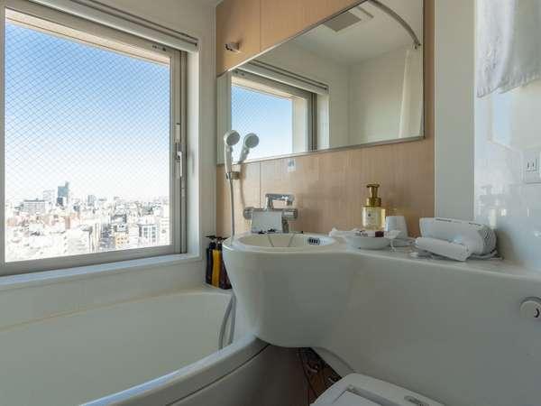 お風呂からも景色が楽しめます