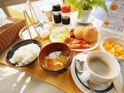 充和朝食メニュー一例