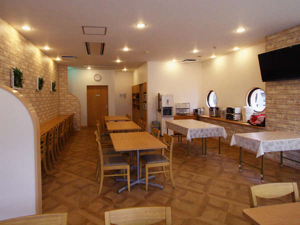 レストラン(休憩・打合せスペースとしてもご利用いただけます。)