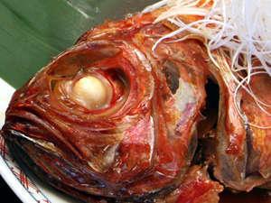 熱海定番の金目鯛の煮付け