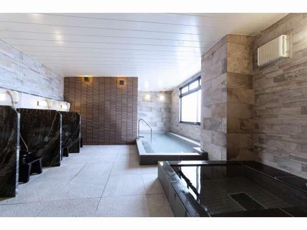 【大浴場×サウナでリラックス♪】男性風呂にはサウナがございます♪ ※利用時間:6~10時、12~25時