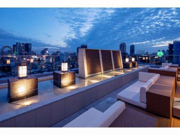 【SKYBAR ソライロ】大阪の夜景を見ながらお楽しみ下さいませ♪ドリンク・フード有