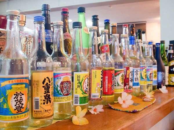 *お酒各種/とにかく豊富な種類が自慢!美味しい泡盛をたくさん取り揃えてお待ちしています!