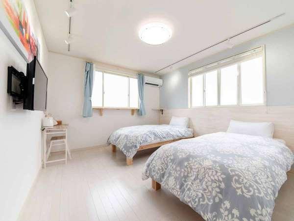 **新装2号棟【西華】2階/シンプルで居心地の良い空間です。