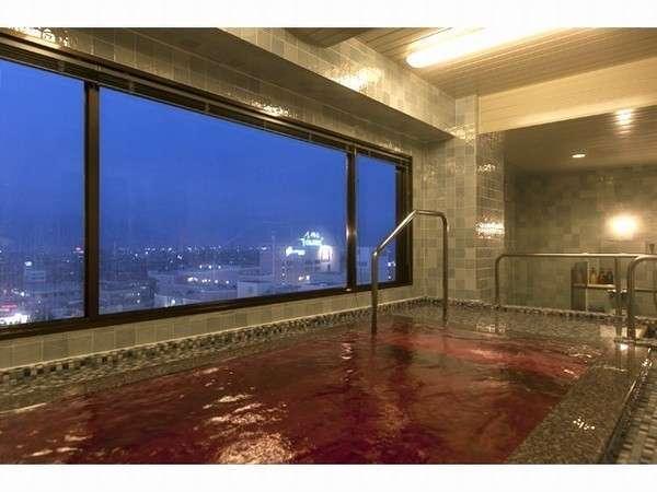 新設の最上階10階、女性専用浴場からは夜景も♪