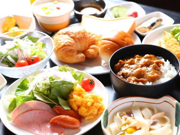 ヘルシー和・洋の朝食バイキング♪一日の始まりは、朝食から☆
