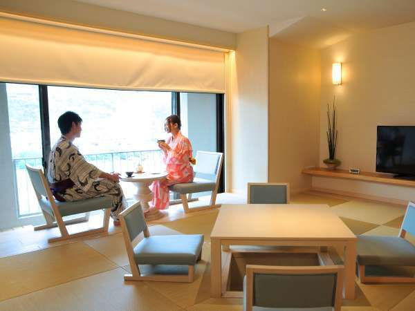 ■SARAI・DAIDAI■ 半露天風呂付(天然温泉)の北欧モダンのコンセプト客室