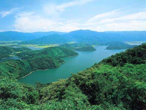 三方五湖 若狭湾国定公園を代表する景勝地(宿から車で約30分)