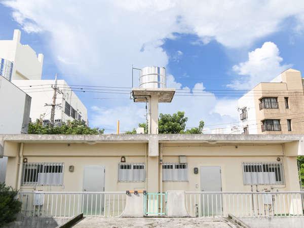 はまや外観昔ながらの石垣島のアパートをリフォームしました
