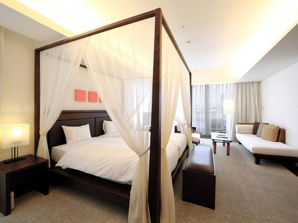 55平米&天蓋付きベッドのある3部屋しかない特別なお部屋です
