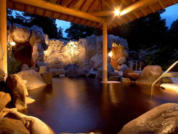奥軽井沢温泉の露天風呂